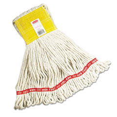 Web_Foot_Wet_Mops_CottonSynthetic_White_Small_5in_Yellow_Headband