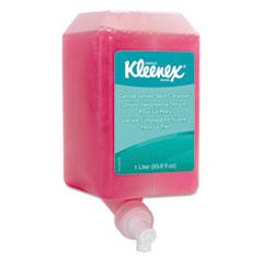 KLEENEX Hand Cleanser, Floral, 1000mL Refill, 6/Carton