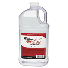 STERNO SOFT LIGHT LIQUID WAX LAMP OIL 1GAL 4CT