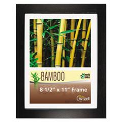 Bamboo Frame, 8 1/2 x 11, Black NUD14185
