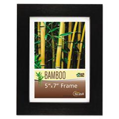 Bamboo Frame, 5 x 7, Black NUD14157