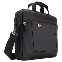 Laptop and Tablet Case for 14.1 Laptop and iPad Slim, Polyester, Black