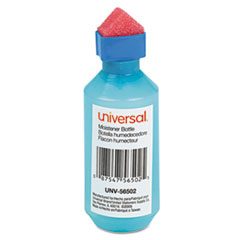 Squeeze Bottle Moistener, 2 oz, Blue UNV56502