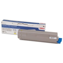 44844509 Toner, 10,000 Page-Yield, Yellow