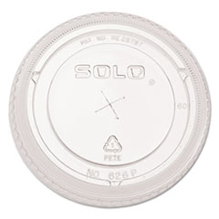 "SOLO Cup Company ""Ultra Clear Dome Cold Cup Lids f/16-24 oz Cups, PET, 100/Pack"" at Sears.com"