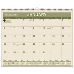 At-A-Glance Monthly Wall Calendar (PMG77-28)
