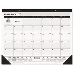 "AT-A-GLANCE® Recycled Desk Pad, 22"" x 17"", 2015"