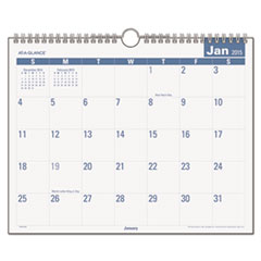 Easy-to-Read Monthly Wall Calendar, 15 x 12, Easy-to-Read, 2016