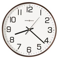 "Kenton Wall Clock, 13"", Espresso MIL625560"