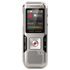 Voice Tracer 4000 Digital Recorder, 4 GB, Silver Shadow/Chrome