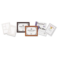 DAX PLAQUE IN AN INSTANT KIT W/ CERTIFICATES & MATS 8 1/2""