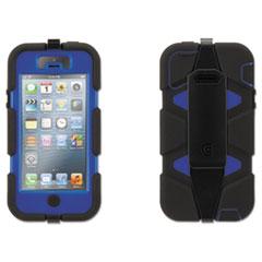 Survivor Case for iPhone 5/5s, Blue/Black