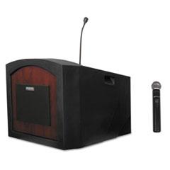 Pinnacle Tabletop Lectern, 26w x 23d x 20h, Mahogany APLSW3240MH