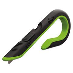Slice Cutters, Ceramic Blade, #S3, 1.25 x 6.75, Green/Black QUA46908