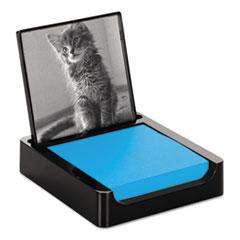 Note Holder + Photo Frame, 3 x 3 Jewel Pop Pad, Black MMMPH654BK