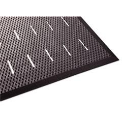 Free Flow Comfort Utility Floor Mat, 36 x 48, Black MLL34030401