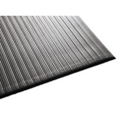 Air Step Antifatigue Mat, Polypropylene, 36 x 144, Black MLL24031202