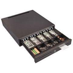 Hercules Cash Drawer, Two Keys, 16 1/2 x 18, Silver Vein