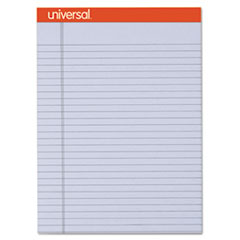 Fashion Colored Perforated Note Pads, 8 1/2 x 11 3/4, Legal, Orchid, 50 Sht,6/PK