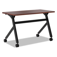Multipurpose Table Flip Base Table, 48w x 24d x 29 3/8h, Light Gray