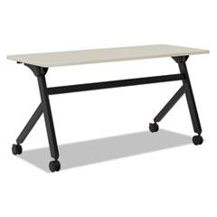 Multipurpose Table Flip Base Table, 60w x 24d x 29 3/8h, Light Gray
