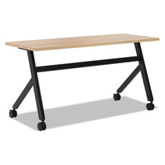 Multipurpose Table Fixed Base Table, 60w x 24d x 29 3/8h, Wheat