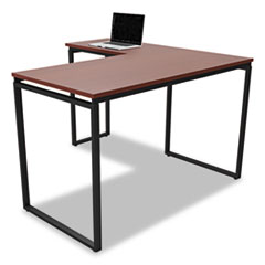 Seven Series L-Shaped Desk, 60 x 23 5/8 x 29 1/2, Cherry LITSV751CH