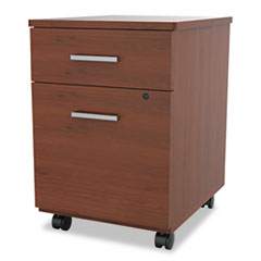 Seven Series Mobile Pedestal File, Box/File Drawer, Cherry LITSV752CH