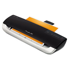 Fusion 3100XL Laminator Plus Pack with Ext Warranty and Pouches, Black/Silver