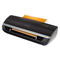 Fusion 5000XL Laminator Plus Pack with Ext Warranty and Pouches, Black/Silver