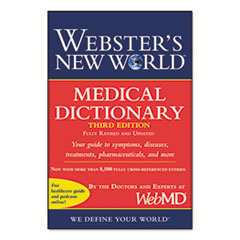 Websters New World Medical Dictionary, Third Edition, Paperback, 480 Pages