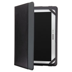 "Universal 360 Rotation Quick Fit Case, 9"" and 10"" Tablets, Black"