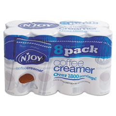 NJOY NON-DIARY COFFEE CREAMER 16OZ CANISTERS 8CS