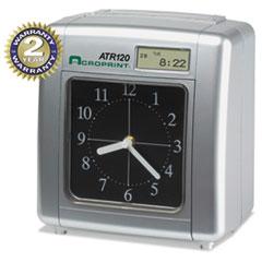 MODEL ATR120 ANALOG/LCD AUTOMATIC TIME CLOCK