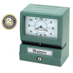 Model 150 Heavy-Duty Analog Automatic Print Time Clock ACP01207040A