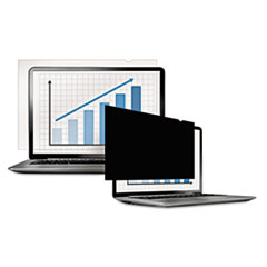 "PrivaScreen Blackout Privacy Filter for 12.5"" Widescreen LCD/Notebook, 16:9"