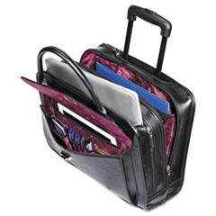 Womens Rolling Mobile Office, 16 1/2 x 6 x 12 3/4, Black
