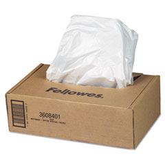 AutoMax Shredder Waste Bags, 16-20 gal, 50/CT
