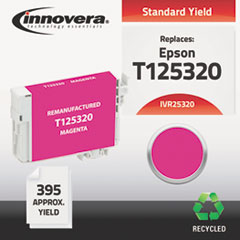 Remanufactured T125320 (125) Ink, Magenta