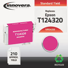 Remanufactured T124320 (124) Ink, Magenta