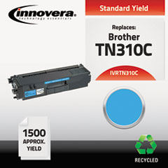 Remanufactured TN310C Toner, Cyan
