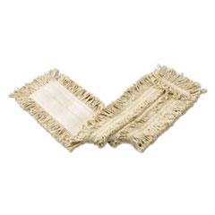 CutEnd_Cotton_Disposable_Dust_Mop_White_36_x_5_12Carton