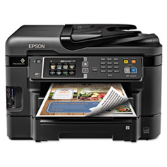 WorkForce 3640 Wireless All-in-One Inkjet Printer, Copy/Fax/Print/Scan