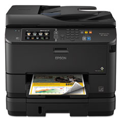 WorkForce 4640 Wireless All-in-One Inkjet Printer, Copy/Fax/Print/Scan