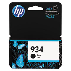 HP 934, (C2P19AN) Black Original Ink Cartridge