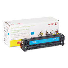 6R1486 (CC531A) Compatible Remanufactured Toner, 3100 Page-Yield, Cyan