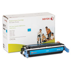 6R942 (C9721A) Compatible Remanufactured Toner, 10000 Page-Yield, Cyan