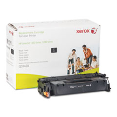 6R1320 (Q5949X) Compatible Remanufactured High-Yield Toner, 7200 Page-Yield, Black
