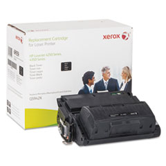 6R959 (Q5942X) Compatible Remanufactured High-Yield Toner, 22200 Page-Yield, Black