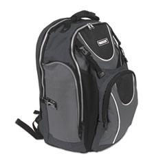 Locking Backpack, 15 x 7 x 19, Black
